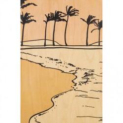 CARTE BOIS dunes
