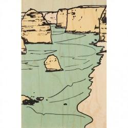 CARTE BOIS coastline