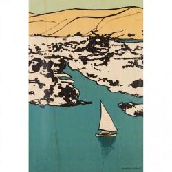 carte en bois sailing
