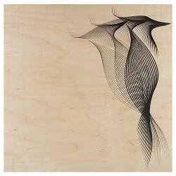 poster en bois Woodhi pivert