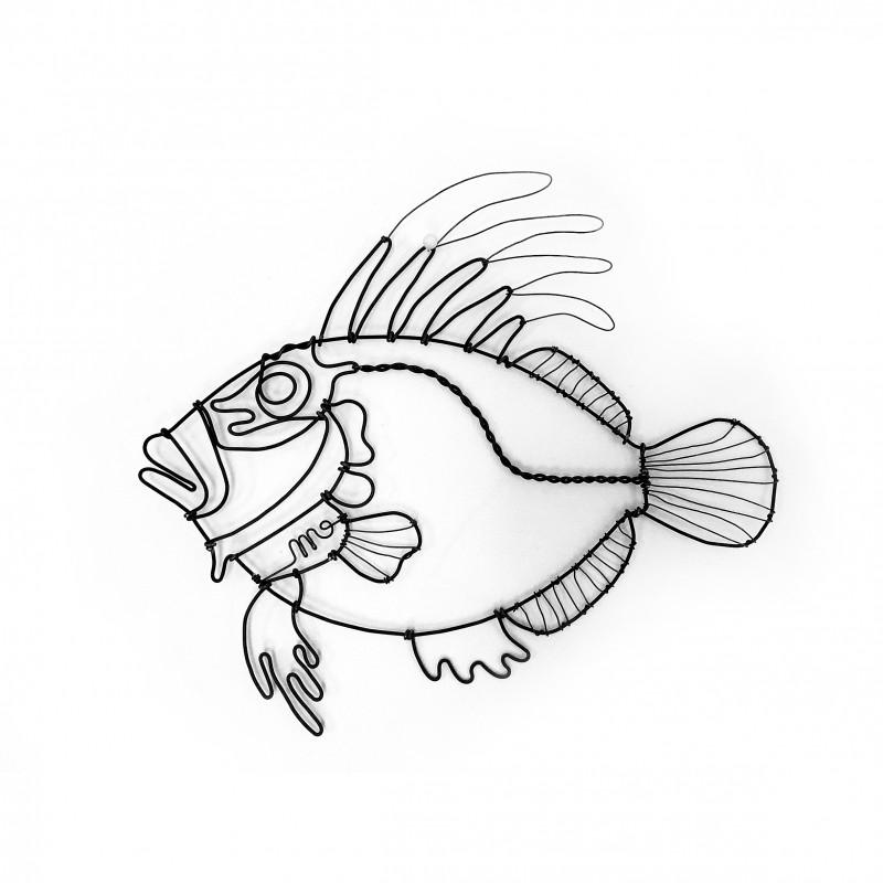 poisson saint pierre en fil de fer