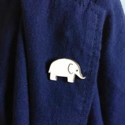 pin's elephanteau Monsieur Papier
