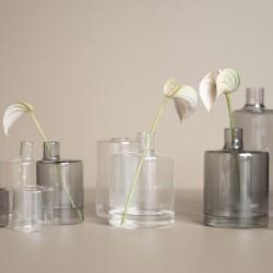 vase transparent ou smoke