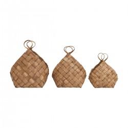 Panier bois de pin